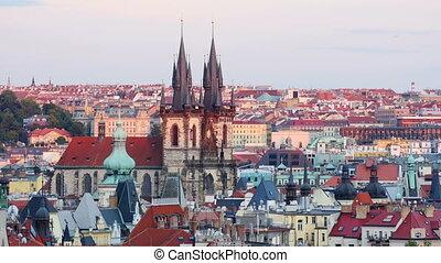 """""""prague, old town city hall, czech republic, 4k"""""""