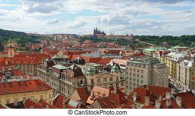 """prague, old town square, czech republic, 4k"""