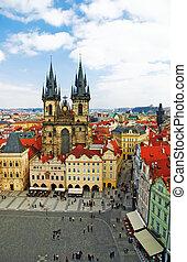 Prague, Old Town Square  - Prague, Old Town Square