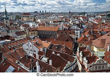 Prague - Panorama and Old Town
