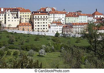 Prague - Panoramic with Uvoz Street - Prague - Panoramic ...