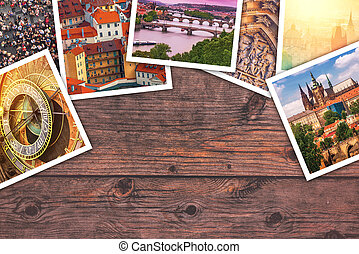 Prague photo collage