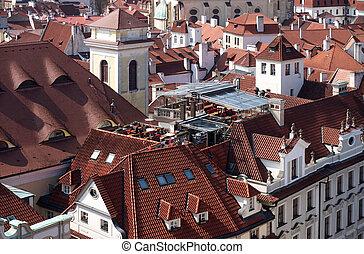 Prague - roofs