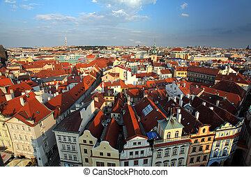 Prague square - Old town, Czech republic