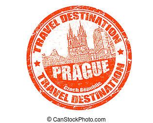 Prague stamp
