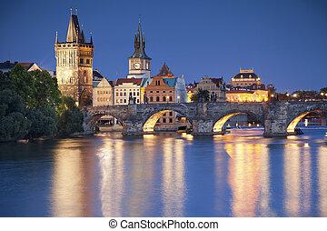 Prague. - Image of Prague, capital city of Czech Republic,...