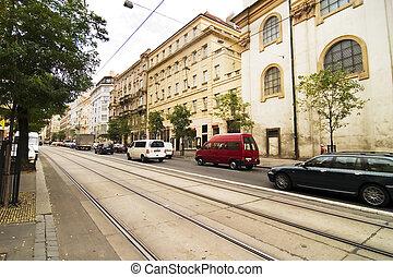 Prague Street Detail