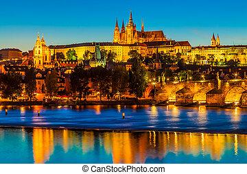 """The Czech Capital Prague is often called """"the Golden City""""."""
