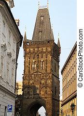 Prague tower