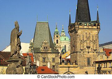Prague towers 02