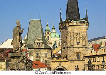 Prague towers 03