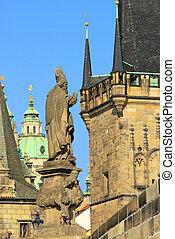 Prague towers 06