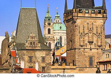 Prague towers 07