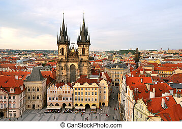 Prague, Tyn Cathedral of the Virgin Mary