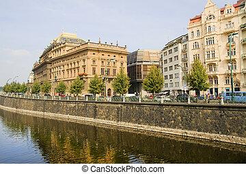 Prague Waterfront