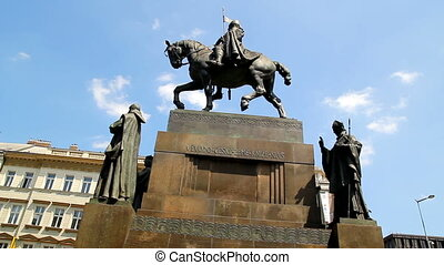 Prague Wenceslas Monument 20