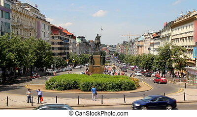 Prague Wenceslas Square 21