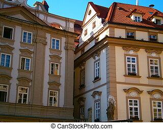 Prague's historic home