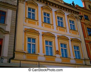 Prague's historical house
