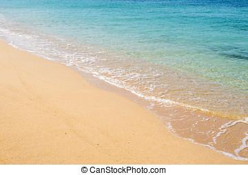 praia, arenoso