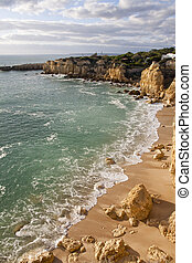 praia, castelo
