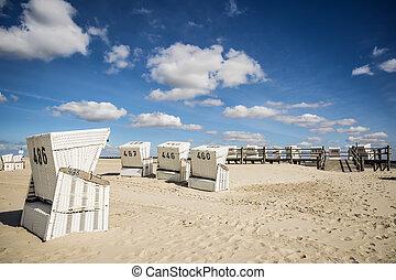 praia, charis, st., peter-ording, areia