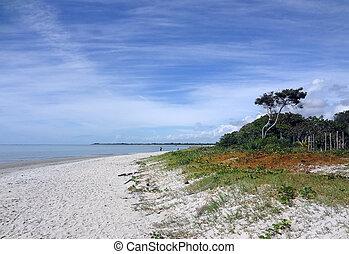 Praia de Coroa Vermelha - A linda praia de Coroa Vermelha...