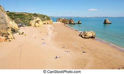 Praia do Camillo in Lagos Portugal