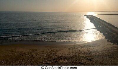 Praia do Molhe beach - View to Praia do Molhe beach in...