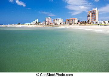praia, elizabeth, áfrica, porto, sul