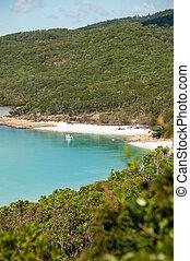 praia, entrada, whitehaven, -, colina, queensland,...
