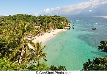praia, filipinas, boracay, diniwid, ilha