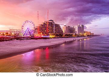 praia, flórida, daytona
