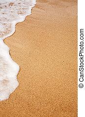 praia, fundo