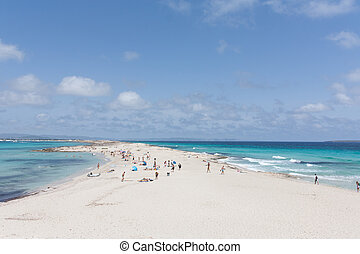 praia, longo