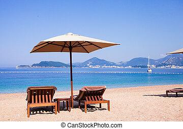 praia, luxo