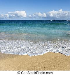 praia., maui, havaí