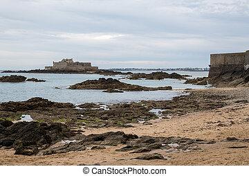 praia, nacional, pedras, maré, malo, baixo, são, durante, forte