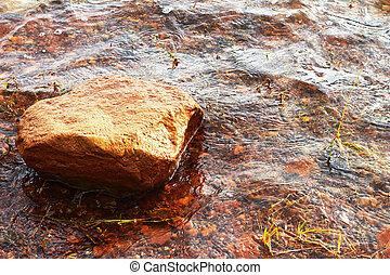 praia., pedras