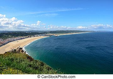 praia, (portugal), nazare, norte
