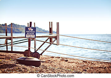 praia, sinal confidencial