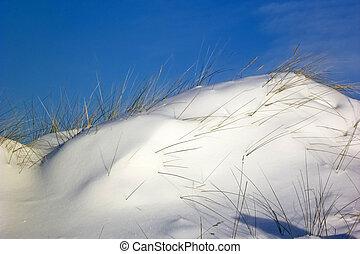 praia, st., peter-ording, inverno