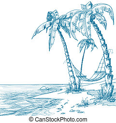 praia, tropicais
