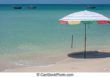 praia tropical, relaxante