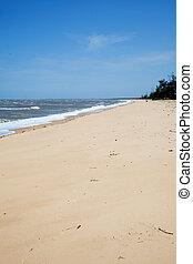 praia, vazio