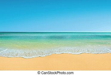 praia, verão