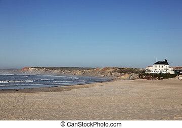 Prainha Beach - Baleal Portugal. This stretch of coast near...