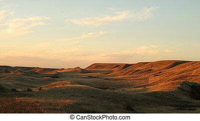 Praire Landscape - A praire landscape of saskatchean in some...