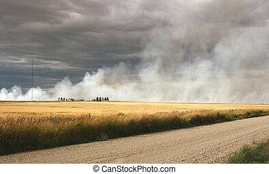 Prairie Fire, AB
