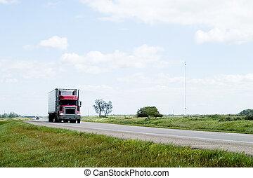 Prairie Highway - Highway on the prairies